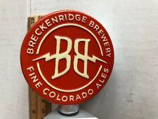 BEER TAP HANDLE BRECKENRIDGE BREWERY FINE COLORADO ALES