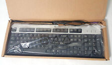 NEW HP Wired PS/2 Keyboard Black/Silver 434820-002