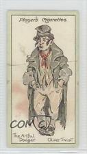1912 Player's Characters from Dickens A Series of 25 #1 The Artful Dodger 0k5