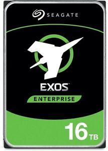 """Seagate Exos X16 16TB, SATA, 3.5"""" Internal Hard Drive (ST16000NM003G)"""