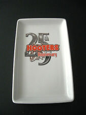 Hooters 25th Anniversary Tray Dish EUC 9""