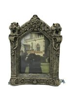 Gargoyle Facade Large Picture Frame Greystone 5 x 7 Wall or Easel Stand 1995 Vtg