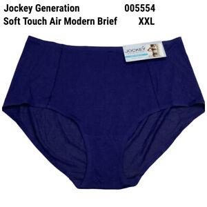 New Jockey Generation 005554 Soft Touch Air Modern Brief Panty 2XL XXL Blue
