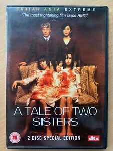 Tale of Two Sisters DVD 2004 Korean Horror Movie Tartan Asia Extreme 2-Discs