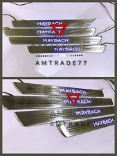 Mercedes Benz S Class W222 Style Maybach Led illuminated Door Sills Panels S63 S