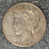 1934-S Peace Dollar - High Quailty Scans #H598