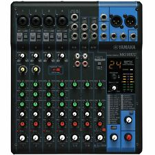 Yamaha MG10XU 10-Channel USB Stereo Mixer with Built In Effects