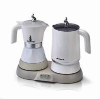 Breakfast Station: Moka + Cappuccino Maker / Kessel 2/4 Tassen Kaffeemascine
