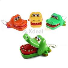 Crocodile Mouth Dentist Bite Finger Game Funny Toy With Keychain Child Adult New