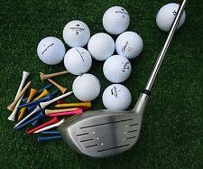 Golfschläger Holz 3 neu + 10 Golfbälle AAAA -AAA  + 20 Tees , Golfset