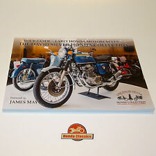 Guide Book History of Honda Motorcycles & David Silver Collection Museum. HBK004