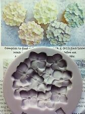 Karen Davies Hydrangea Cup Cake Top Mould for Sugarcraft NEXT DAY DESPATCH