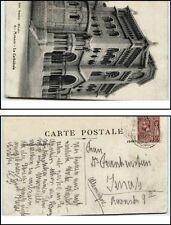 1912 tolle MONACO Briefmarke auf AK Postcard CPA Bedarfspost nach Jena gelaufen