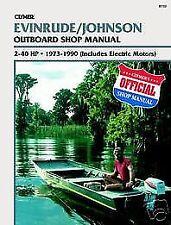 B732 Johnson Evinrude 2-40hp 1973-1990 Outboard Service Repair Shop Manual