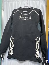 KUTTING WEIGHT  LOSS SAUNA SUIT NEOPRENE LONG SLEEVE BLACK SHIRT SIZE 3X