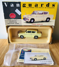 Vanguards 1:43 scale Ford 100E in Conway Yellow VA21000