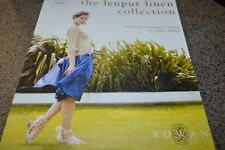 Rowan Knitting Pattern Book Lenpur Linen Collection
