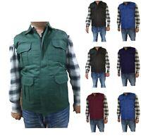 Men's Body warmer / Gilets light weight padded winter sleeveless Jackets Coats