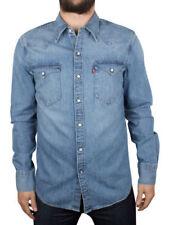 Camisas y polos de hombre Levi's color principal azul 100% algodón