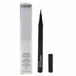 RRP £23.50 Brand New Boxed Lancome Black Liquid Eye Liner Plume Pen 01 Noir