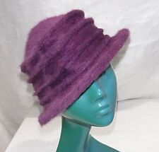 Polyester Cloche Vintage Hats for Women
