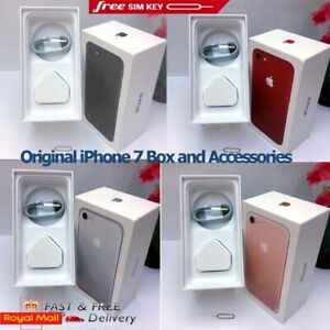 Original iPhone 7 box only with Accessories