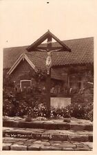 Northamptonshire -  GREAT BILLING, The War Memorial, Real Photo