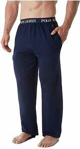 Polo Ralph Lauren Men's Supreme Comfort Lounge Pant Sleepwear Pajama Navy 3X, 4X