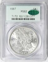 1887 P MORGAN SILVER DOLLAR $1 *PCGS & CAC MS62* *OGH* *2ND GEN* *FREE SHIPPING*