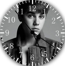 "Justin Bieber wall Clock 10"" will be nice Gift and Room wall Decor Z35"