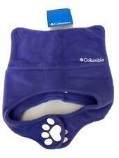 COLUMBIA  INFANT WINTER HAT PIGTAIL WARM FLEECE HAT (purple) Toddler