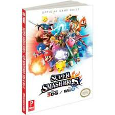 PRIMA OFFICIAL GAME STRATEGY GUIDE * SUPER SMASH BROS. 3DS & WII U * BRAND NEW