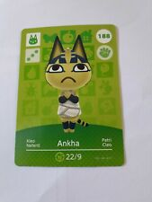 Animal Crossing Amiibo Card Series 2 Ankha 188 Unscanned