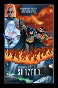Batman & Mr. Freeze: Subzero Poster Sam Gilbey xx/100 Mondo