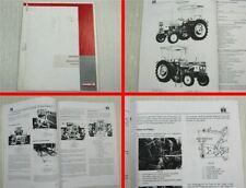 IHC 383 423 453 Traktor Schlepper Betriebsanleitung 4/1972 Wartung Pflege