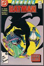 "Batman Annual #11 Dc 1987 ""Villains In Love!"" Clayface + Penguin Alan Moore Vf+"