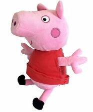 "New Peppa Pig Plush Doll 14"" Inches Stuffed Animal Toy Authentic Licensed NWT!"
