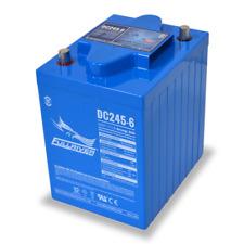 BAFRDC245-6 Fullriver Full Force AGM Deep Cycle Batteries 245AH/6V Quantity 1