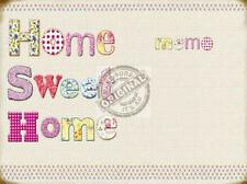 HOME SWEET ..SHABBY CHIC COUNTRY MEMO BOARD LARGE STEEL WALL MAGNETIC MARKER PEN