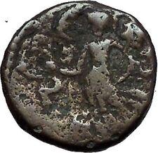 DOMITIAN 83AD JUDAEA CAPTA Victory Caesarea Maritima Ancient Roman Coin i56314