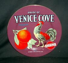 Oneida Vintage Label Collection Salad/Snack Plate - Pride of Venice Cove