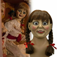 2019 The Conjuring Annabelle Mask Halloween Scary Adult Mask Cosplay Props New