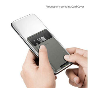 Baseus Phone Wallet Sticker Credit Card Holder ID Card Phone Protective Cover