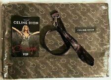 Celine Dion Vip Cashmere ? Scarf, Vip Lanyard, Bonus Vip Badge 2019 Courage Tour