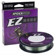 Spiderwire EZ Monofilament Line 220yd 6lb -17lb Carp Coarse Game Fishing line