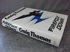 """1st 1983, Firefox Down. Aircraft - Russia - """"Best Espionage Book of The Year"""""""