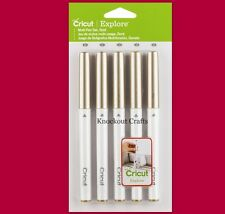 Cricut Explore GOLD Multi Tip 5 Piece Pen Set ~ KNOCKOUT CRAFTS