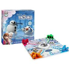 Hasbro Classic Trouble Game Disney  Frozen Edition Olaf's In Trouble  Fun Childr