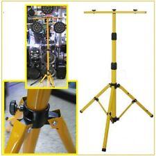 Stand Stativo  per fari a led 3 posti telescopico .