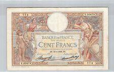 FRANCE 100 FRANCS LOM 113.2.1936 V.50479 N° 1261970774 PICK 78c